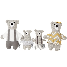 By Astrup Bear family - bjørne familie