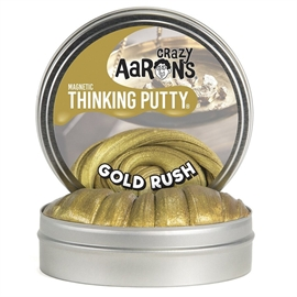 Crazy Aarons thinking putty magnetic, gold rush