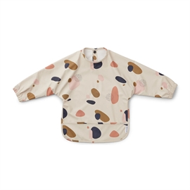 Liewood hagesmaek Merle cape bib - bubbly sandy