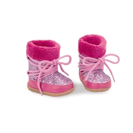 Our Generation støvler moon boots pink