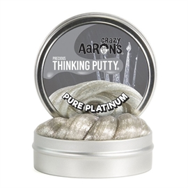 Crazy Aarons thinking putty Precious Pure Platinum