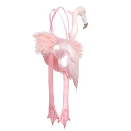 Dyrekostume flamingo, one size